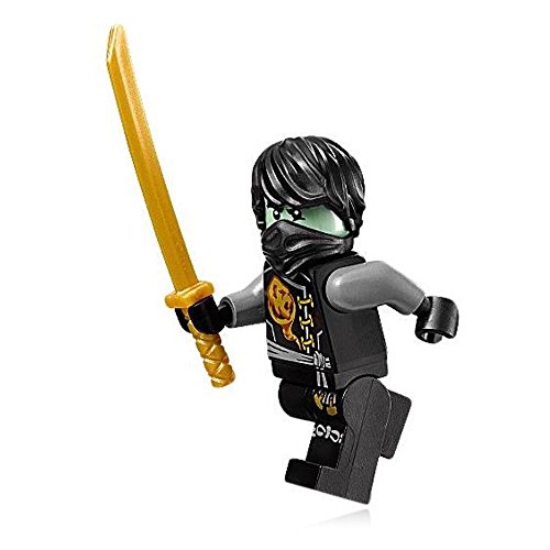 LEGO NinjaGo MiniFigure - Cole (Skybound, Ghost w/ Hair) From Set 70593 ()