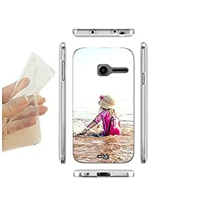 FUNDA CARCASA SLIM SCHIAFFO ACQUA PARA VODAFONE SMART FIRST 6 TPU