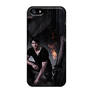 JerryDonB Snap On Hard Case Cover The Vampire Diaries Season 5 Protector For Iphone 5/5s