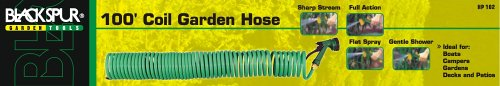 Blackspur 100ft Coil Garden Hose Bb-hp102 ()