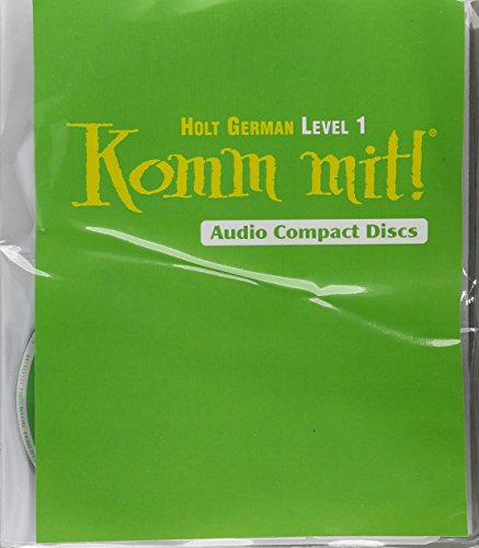 Komm mit!: Audio CD Program Level 1 by HOLT, RINEHART AND WINSTON