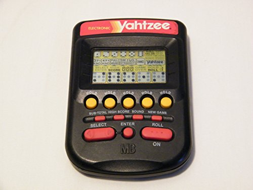 yahtzee electronic game - 2