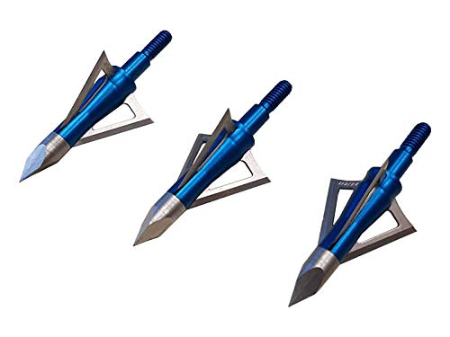 Excalibur Boltcutter 100 Grain Broadhead | Stainless 3 Blade | 3 Pack | Pro Hunting | Universal | Powerful | Good for All Brand Crossbow Bolts/Arrows | Enhance Accuracy| One Size | Great Performance
