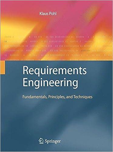 Requirements engineering fundamentals principles and techniques requirements engineering fundamentals principles and techniques 2010th edition fandeluxe Gallery