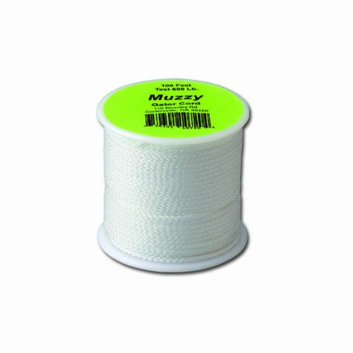 Muzzy Bowfishing 1072 Brownell 600# Gator Cord, 100 ft. Bowfishing Line