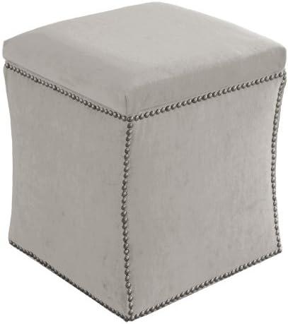 Deal of the week: Skyline Furniture Velvet Nail Button Ottoman
