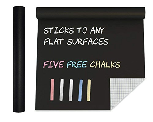 Extra Large Chalkboard Contact Paper Vinyl Wall Decal Poster