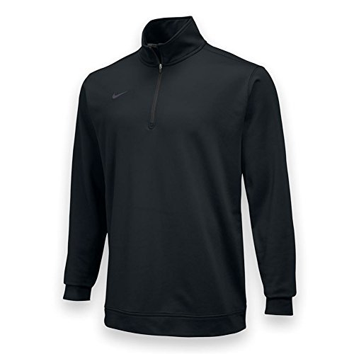 Nike Dri-Fit 1/2 Zip - Black - 2XL
