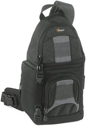Amazon Com Lowepro Slingshot 100 All Weather Digital Camera Backpack Black Camera Cases Camera Photo