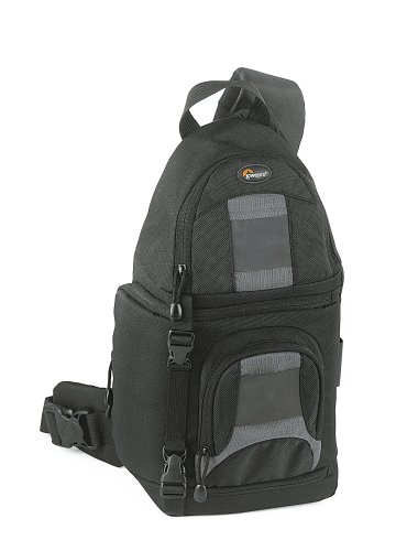 100 Aw Backpack - Lowepro SlingShot 100 All-Weather Digital Camera Backpack - Black