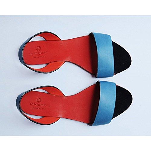 Leticia Leticia portegna la Sandals Turquoise Sandals portegna la 5YZAxxqH