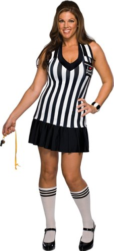 [Foul Play Costume - Plus Size - Dress Size 16-20] (Referee Costume Plus Size)