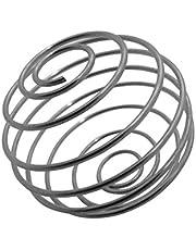 gymadvisor 4 x MIXER BALL roestvrijstalen blender garde (reserve voor proteïne shaker)