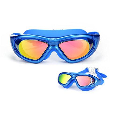 Adulto Antivaho De Y De QY Buceo Gafas De Gafas Natación Unisex Azul Grande Impermeable Gafas Marco Natación HD xzqg4q1Y8