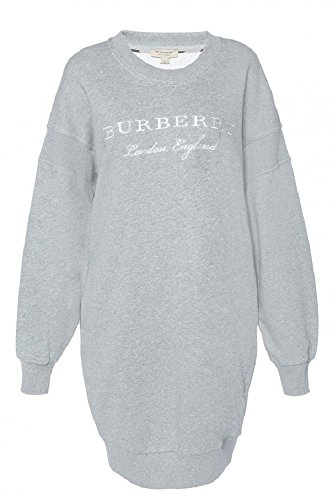 Burberry Women's Source Gray Cotton Sweatdress XS