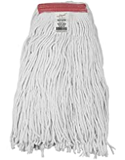 VPC Loop-End Synthetic Universal Commercial String Mop Head, 1.25 Inch Headband with Narrow Strips