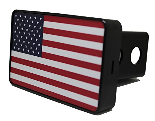 Bright Hitch - American Flag Hitch (Hitch Cover Lens)