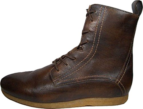 Creative Recreation Costa Hi Select, Braun, Atmungsaktive Boots aus Premium-Leder und Leder Innerfutter, Größe 42 / US 9 / UK 8 / 27 cm