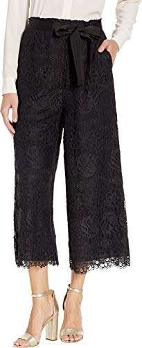 Juicy Couture Women's Lace Culottes Pitch Black X-Large 23