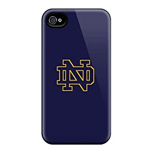 GSI5042RBDu Snap On Case Cover Skin For Iphone 6(notre Dame Logo)