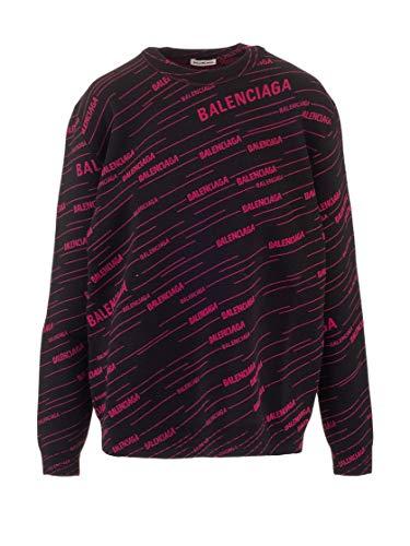 Balenciaga Luxury Fashion Womens 583094T15241092 Black Sweater | Fall Winter 19