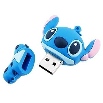 ZUBER/® Cl/é USB 2.0 au motif fantaisie de dessin anim/é Stitch 16 go
