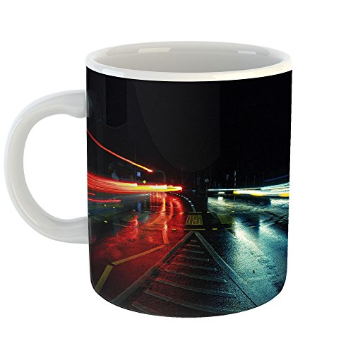 Westlake Art   Street Wet   11Oz Coffee Cup Mug   Modern Picture Photography Artwork Home Office Birthday Gift   11 Ounce  46A1 10Ab1