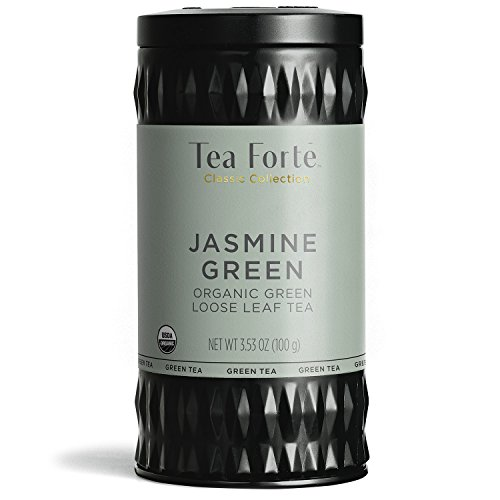 Tea Forté Loose Leaf Tea - Jasmine Green Tea