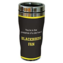 Tree-Free Greetings sg24760 Blackbirds College Basketball Sip 'N Go Stainless Steel Lined Travel Tumbler, 16 Ounce