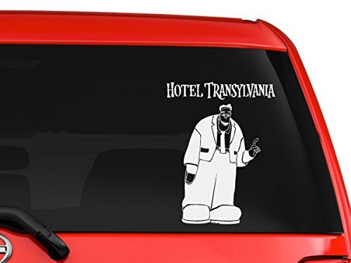 YourChoiceDecals Hotel Transylvania Frankenstein Dracula monsters scary children Halloween cartoon car truck laptop macbook window...]()