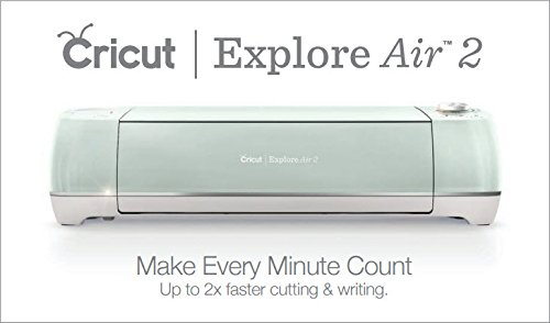 Die Cut Machines Cricut Explore Air 2 Mint Machine Bundle