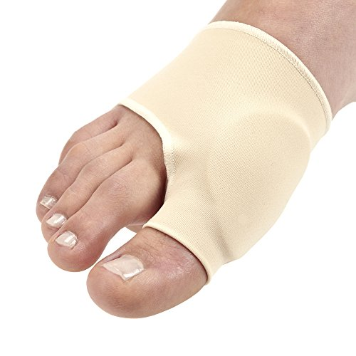 Toe Bunion Relief for Painful & Inflamed Bunions (1 Pair) by One & Only USA (Large (7-13))