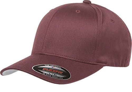 Original Flexfit Wooly Cotton Twill Cap 6277, Stretch Fit Baseball Cap w/Hat Liner L/XL ()