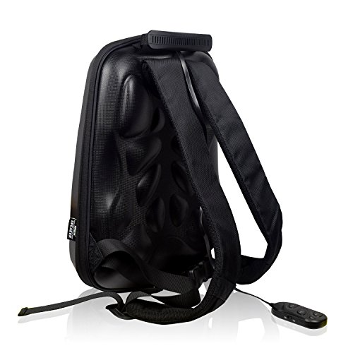 WILDMAN Multi-Functional Waterproof Lightweight Enabled Wireless Bluetooth Speaker LED Light Backpack (Black) by Wildman (Image #1)