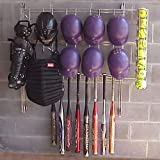 Kaspar Wire Works 1046274 Dugout Organizer Rack - Softball Baseball-Softball Field Equipment