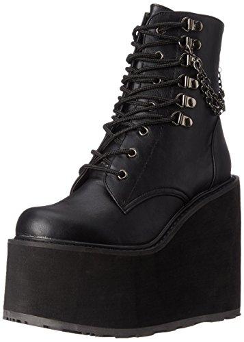 Demonia Swing-101, Zapatillas de Estar por Casa para Mujer Schwarz (Schwarz (Blk Vegan Leather))