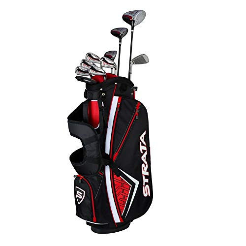 Callaway Men's Strata Plus Complete Golf Set (14-Piece, Right Hand, Steel) (Best Iron Set For Beginners 2019)