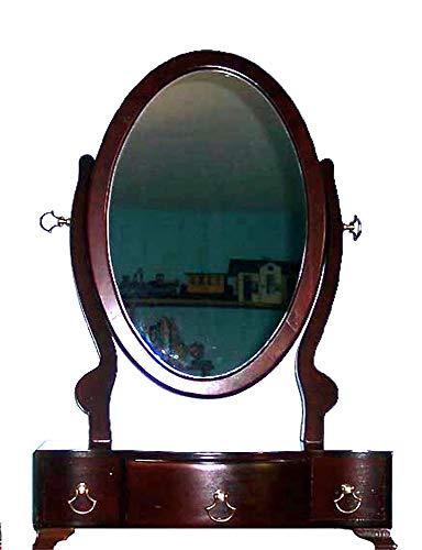 Men's/woman's Wood Vanity Dresser Top Mahogany Finish
