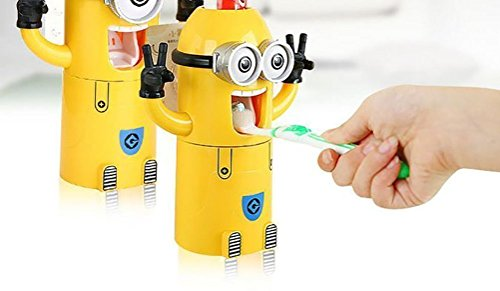Minion Toothpaste Dispenser Toothbrush Stickers