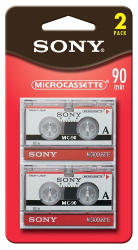 Sony 90 Minute Microcassette (2-Pack) (Discontinued by Manufacturer)