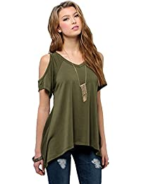 Amazon.com: Green - Tops & Tees / Clothing: Clothing, Shoes & Jewelry