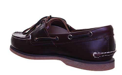 2 Homme Dark LP2 Chaussures Eye Timberland Classic Bateau Brown 4qg5w5