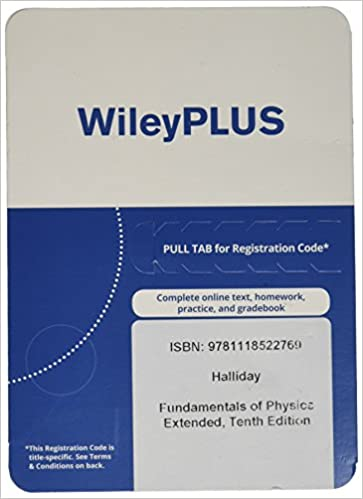 Wileyplus stand alone to fundamentals of physics extended 10th ed wileyplus stand alone to fundamentals of physics extended 10th ed registration code halliday 9781118522769 amazon books fandeluxe Image collections