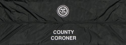 Hollywood Effects Body Bag, County Coroner -