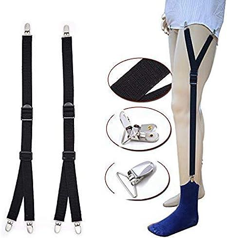 OneMoreT - Sujetador para camisa de hombre con banda elástica antideslizante: Amazon.es: Instrumentos musicales