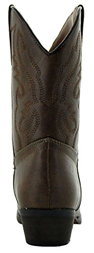 Country Love Little Rancher Kids Cowboy Boots K101-1001 (4, Brown) by Country Love Boots (Image #2)