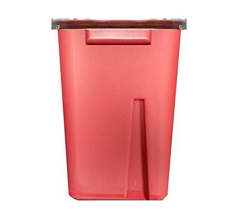 Bulk Sharps Container 2 Gallon - Plus Vakly Biohazard Disposal Guide (6 Pack)