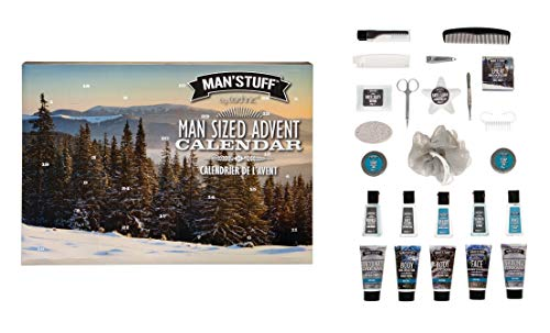 Man'Stuff by Technic 24 Day Men's Toiletry Product Christmas Advent Calendar - Limited Edition