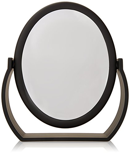 Danielle Midnight Matte Oval Vanity Mirror