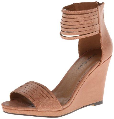 Michael Antonio Women's Alani Wedge Sandal,Blush,7.5 M US